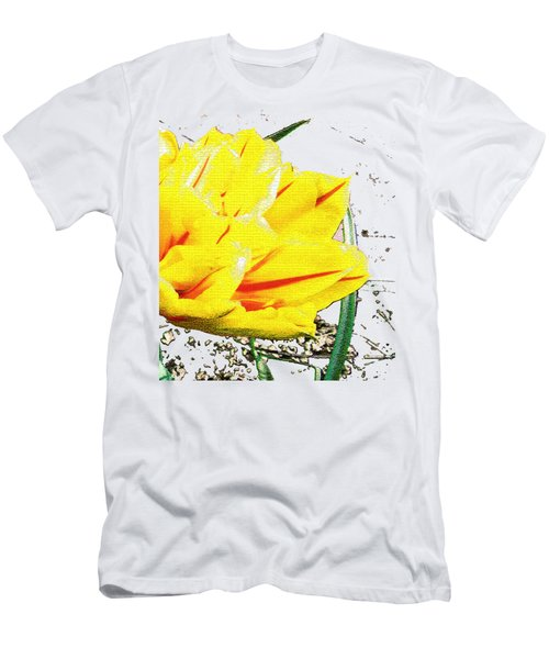 Tulip 3 Men's T-Shirt (Slim Fit) by Vesna Martinjak