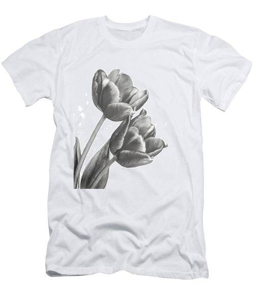 Tulip Sketch Men's T-Shirt (Athletic Fit)