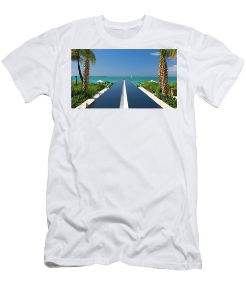 Turks And Caicos Men's T-Shirt (Athletic Fit)