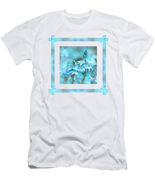 Turquoise Ribbons Men's T-Shirt (Athletic Fit)