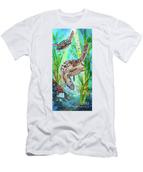 Turtle Cove Men's T-Shirt (Athletic Fit)