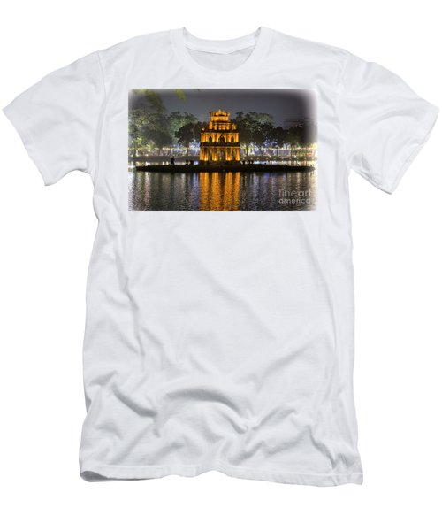 Turtle Tower IIi Hanoi Men's T-Shirt (Athletic Fit)