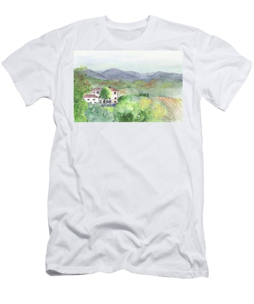 Tuscan Vineyards Men's T-Shirt (Athletic Fit)