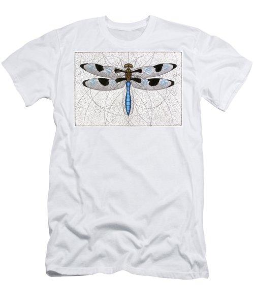 Twelve Spotted Skimmer Men's T-Shirt (Athletic Fit)