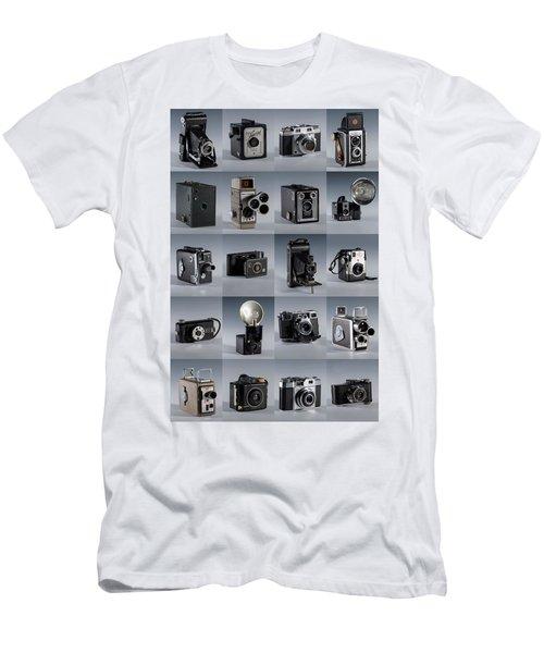 Twenty Old Cameras - Color Men's T-Shirt (Athletic Fit)