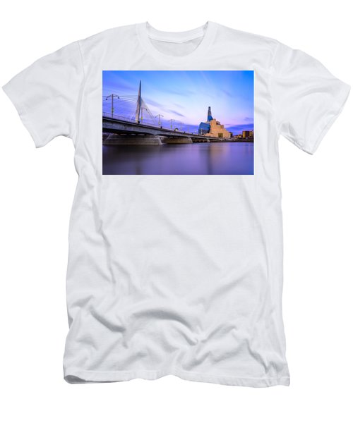Twilight In Winnipeg Men's T-Shirt (Athletic Fit)