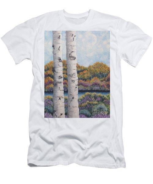 Twin Aspens Men's T-Shirt (Athletic Fit)
