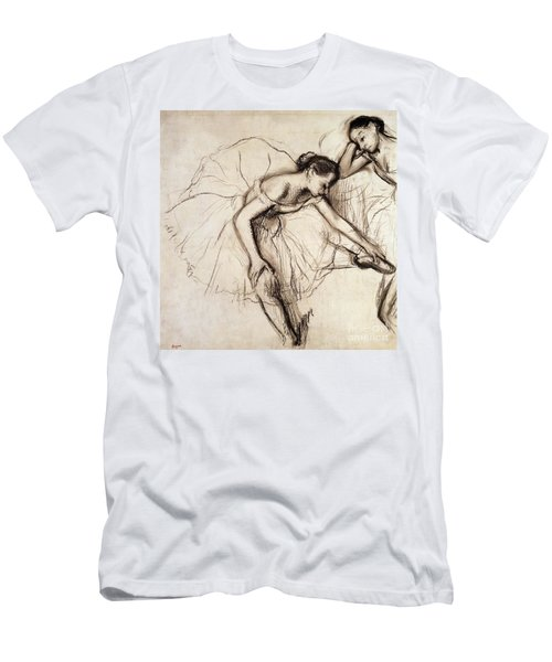 Two Dancers Resting Men's T-Shirt (Athletic Fit)