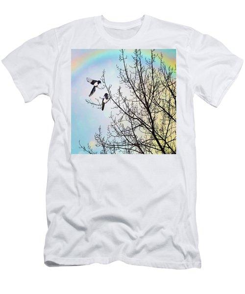 Two For Joy #nurseryrhyme Men's T-Shirt (Athletic Fit)