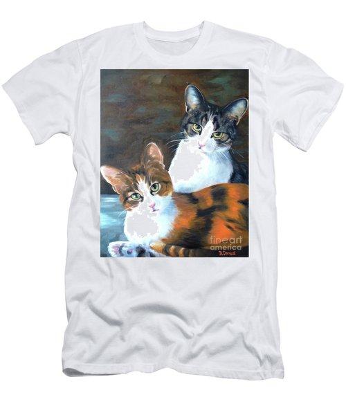 Two Friends Men's T-Shirt (Athletic Fit)