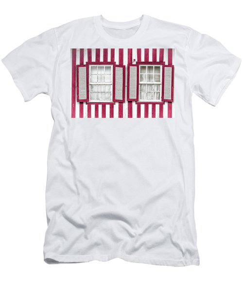 Two Old Windows Men's T-Shirt (Athletic Fit)
