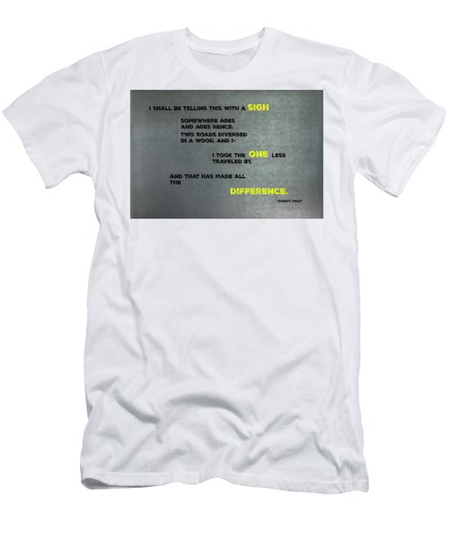 Two Roads #2 Men's T-Shirt (Athletic Fit)