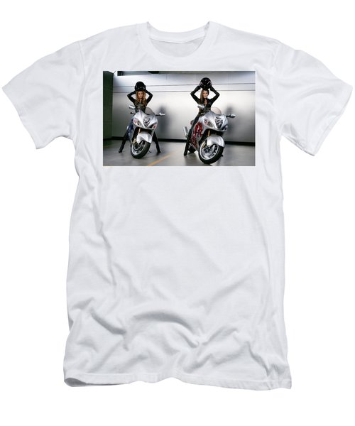 Two To Go And Go And Go. Men's T-Shirt (Athletic Fit)