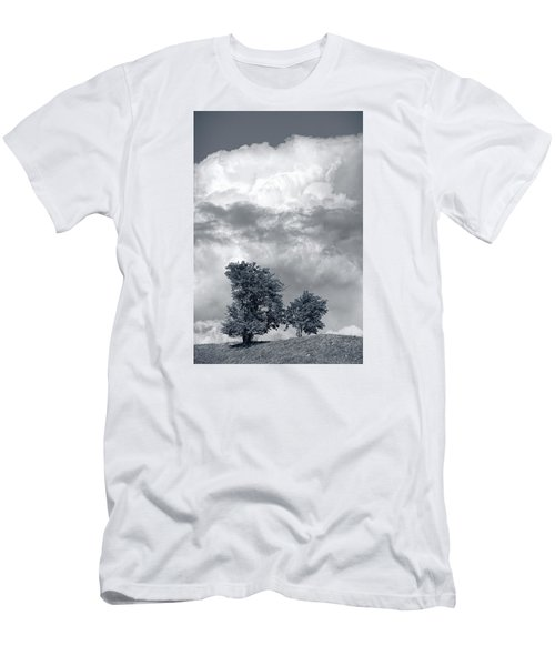 Two Trees #9249 Men's T-Shirt (Slim Fit) by Andrey Godyaykin