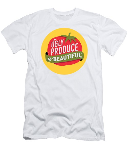 Ugly Produce Is Beautiful Men's T-Shirt (Athletic Fit)