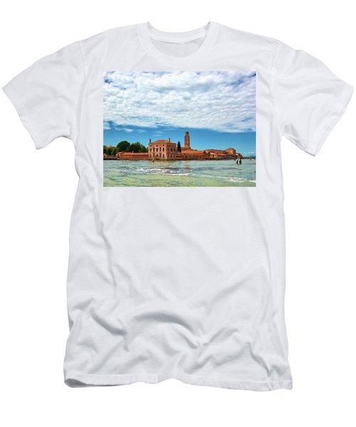Under A Cloud Mattress Men's T-Shirt (Athletic Fit)