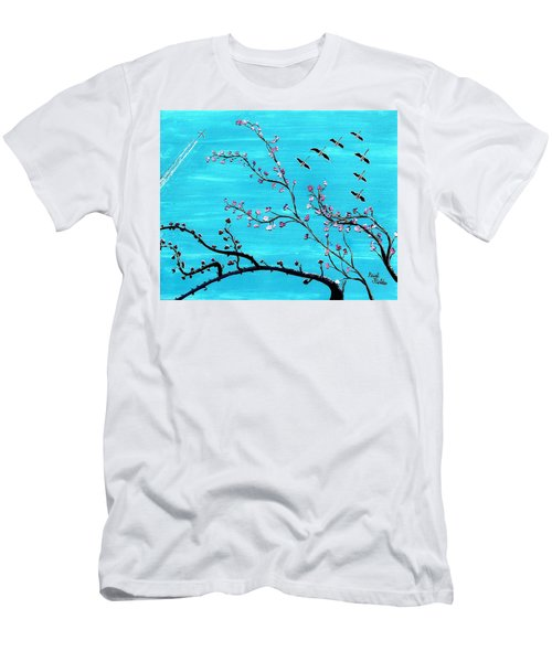Under A Tree Men's T-Shirt (Athletic Fit)