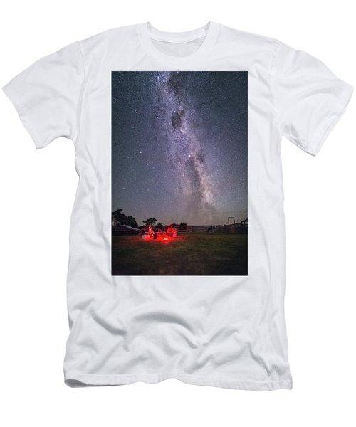 Under Southern Stars Men's T-Shirt (Slim Fit) by Alex Conu
