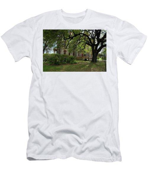 Men's T-Shirt (Slim Fit) featuring the photograph Under The Tree F5622a by Ricardo J Ruiz de Porras