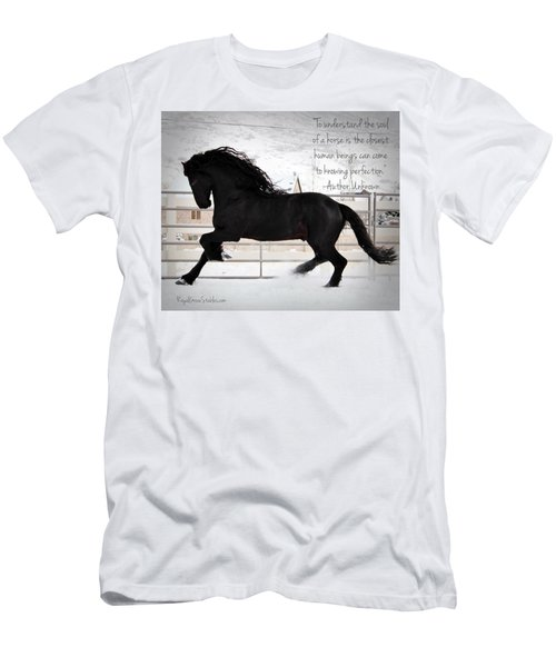 Understand The Soul Of A Horse Men's T-Shirt (Athletic Fit)