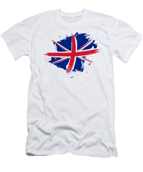 Union Jack - Flag Of The United Kingdom Men's T-Shirt (Athletic Fit)