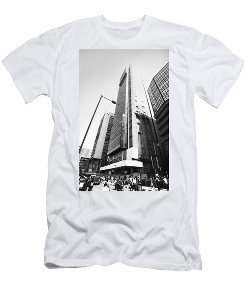 Union Bank Hq, Marina Men's T-Shirt (Athletic Fit)