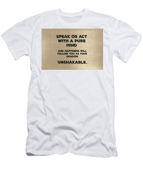 Unshakable Men's T-Shirt (Athletic Fit)