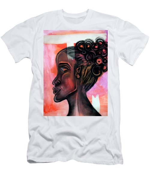 Untitled Lady II Men's T-Shirt (Athletic Fit)