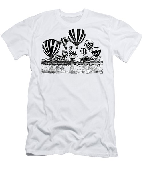 Up In The Air Men's T-Shirt (Athletic Fit)