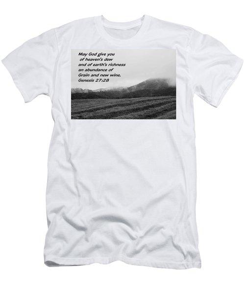 Uplifting Fog Men's T-Shirt (Athletic Fit)