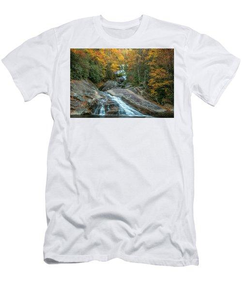 Upper Creek Autumn Paradise Men's T-Shirt (Athletic Fit)