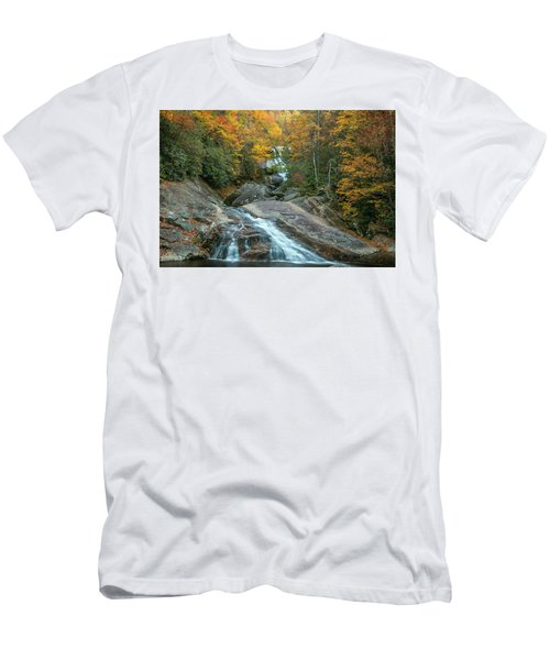 Upper Creek Autumn Paradise Men's T-Shirt (Athletic Fit)