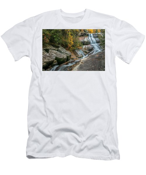 Upper Creek Falls Men's T-Shirt (Athletic Fit)