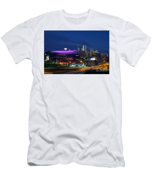 Us Bank Stadium Men's T-Shirt (Athletic Fit)