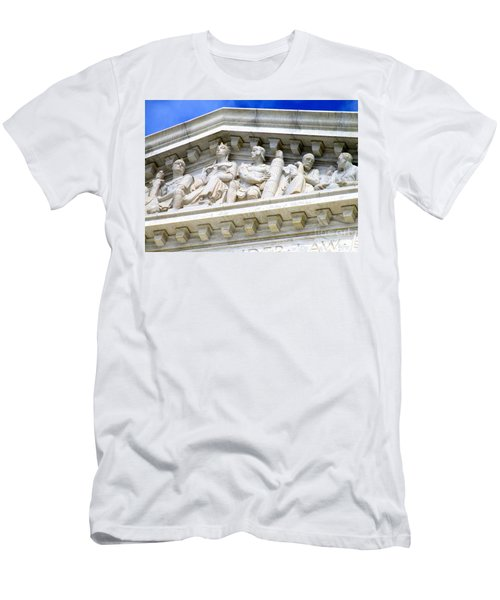 Us Supreme Court 4 Men's T-Shirt (Slim Fit) by Randall Weidner