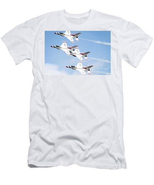 Usaf Thunderbirds Men's T-Shirt (Athletic Fit)