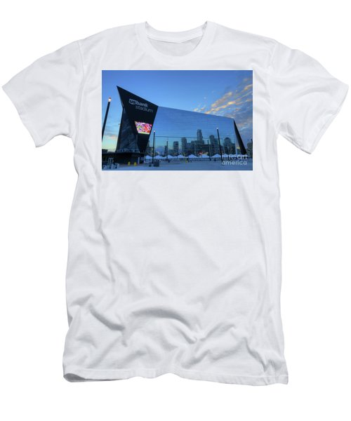 Usbank Stadium Morning Men's T-Shirt (Athletic Fit)
