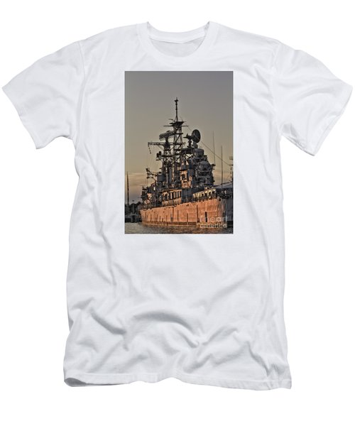 U.s.s Little Rock Men's T-Shirt (Athletic Fit)