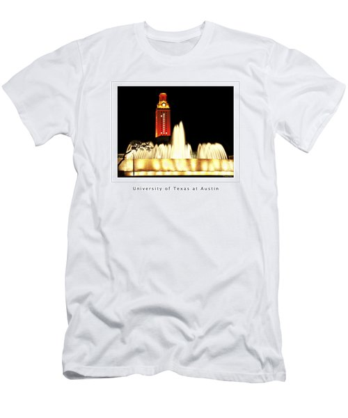 Ut Tower Poster Men's T-Shirt (Athletic Fit)