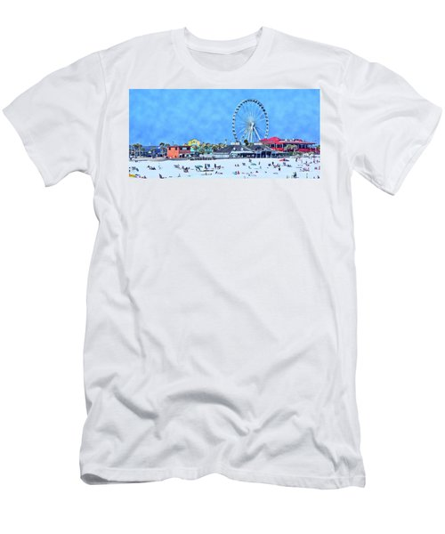 Men's T-Shirt (Slim Fit) featuring the photograph Vacation by Kathy Bassett