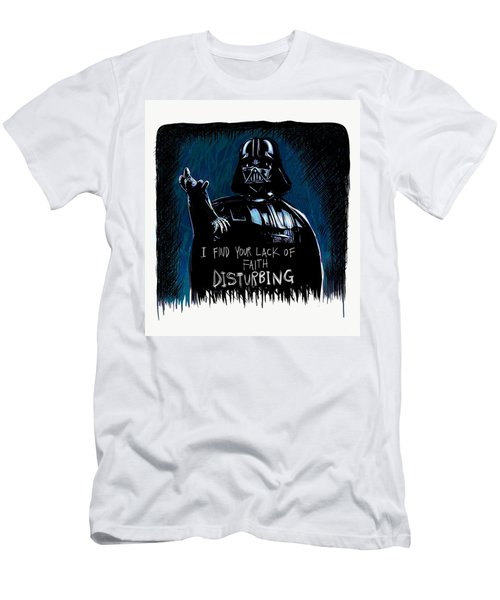 Men's T-Shirt (Athletic Fit) featuring the digital art Vader by Antonio Romero