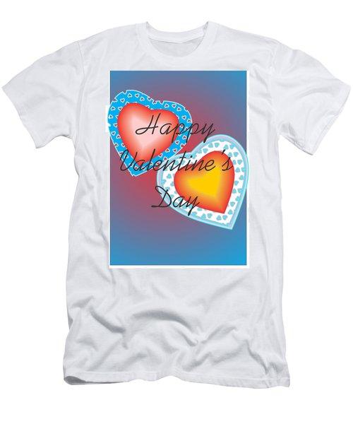Valentine Lace Men's T-Shirt (Slim Fit) by Sherril Porter