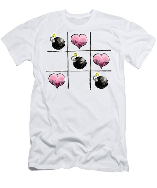 Valentine Violence Men's T-Shirt (Athletic Fit)