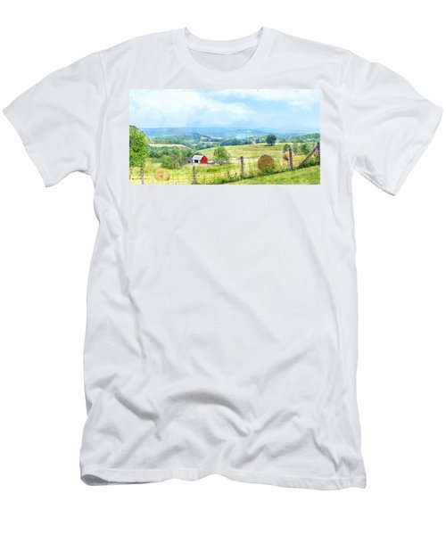 Valley Farm Men's T-Shirt (Athletic Fit)