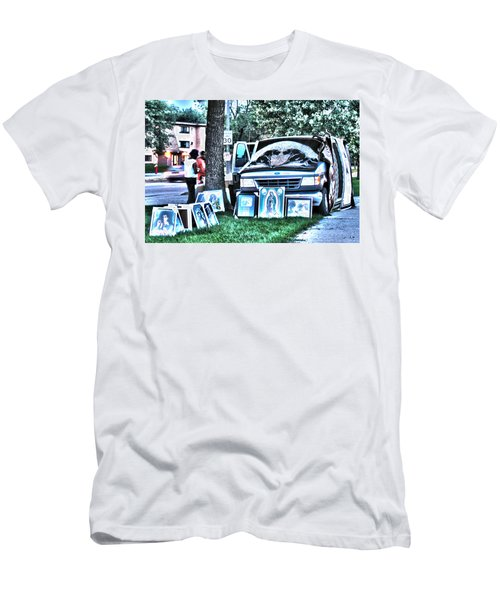 Van Art Men's T-Shirt (Athletic Fit)