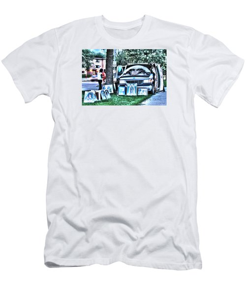 Van Art Men's T-Shirt (Athletic Fit)