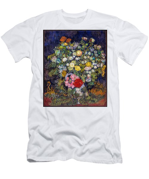 van Gogh's Vase          Men's T-Shirt (Athletic Fit)