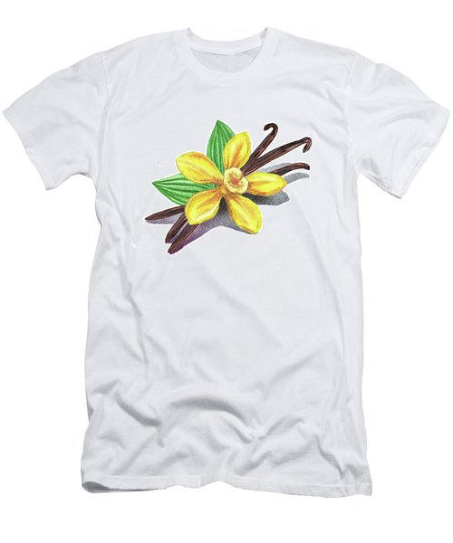 Vanilla Sticks And Flower Men's T-Shirt (Athletic Fit)