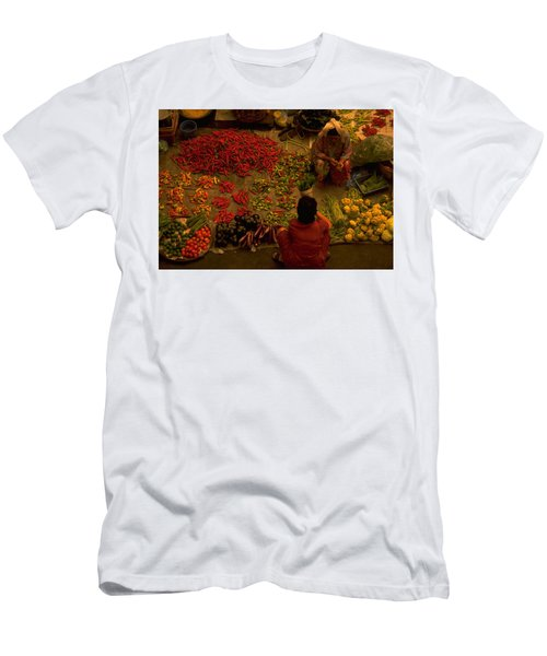 Vegetable Market In Malaysia Men's T-Shirt (Athletic Fit)