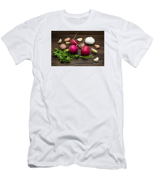 Vegetables Still Life Men's T-Shirt (Athletic Fit)